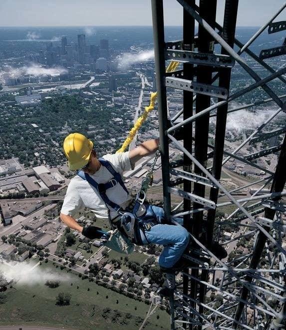 Praca na wysokościach